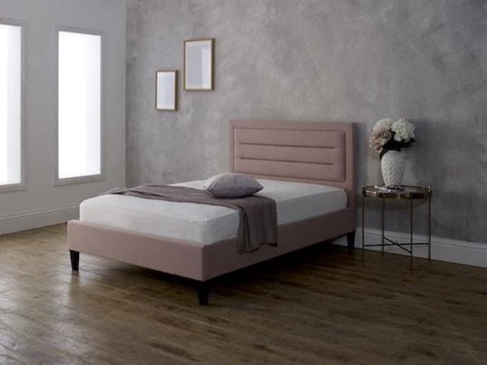 instrument VICO pink bed frame - INSTRUMENT FURNITURE