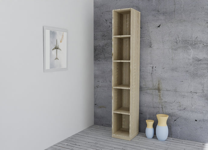 instrument Bronx shelf unit 33cm [Sonoma Oak] - INSTRUMENT FURNITURE
