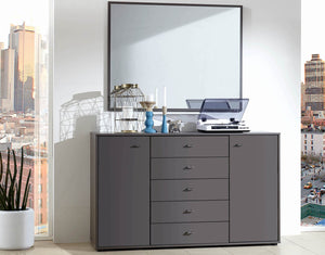 instrument Flex sideboard with drawers [Multicolour] - INSTRUMENT FURNITURE