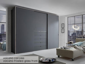 instrument Versa sliding wardrobe 298cm [multicolour] - INSTRUMENT FURNITURE