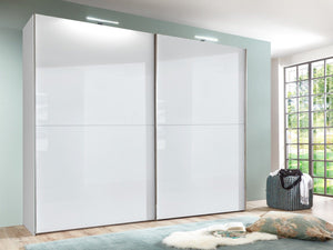 instrument COCO wardrobe 244cm [white gloss] - INSTRUMENT FURNITURE