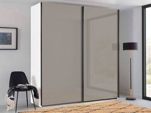 instrument PERLA sliding wardrobe 140cm [Cashmere] - INSTRUMENT FURNITURE