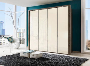 instrument Ipanema hinged wardrobe 200cm [White] - INSTRUMENT FURNITURE