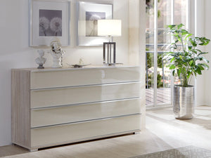 instrument ROSARIO large chest of drawers [Multicolour] - INSTRUMENT FURNITURE
