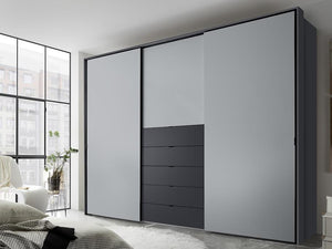 instrument Versa sliding wardrobe 280cm [multicolour] - INSTRUMENT FURNITURE