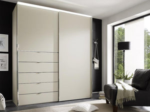 instrument Versa sliding wardrobe 188cm [sand glass] - INSTRUMENT FURNITURE