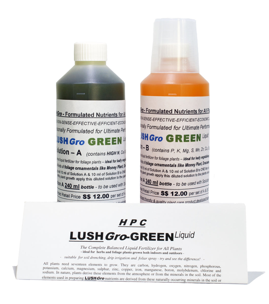 LushGro - Green Liquid