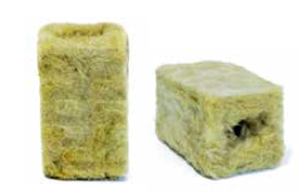 Pre-cut Disposable Germination Rockwool Cubes