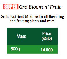 SuperGro Bloom n' Fruit