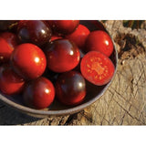 Organic Artisan Cherry Tomato 'Indigo Cherry Drops' (Solanum Lycopersicum) Vegetable Heirloom, 10 Seeds