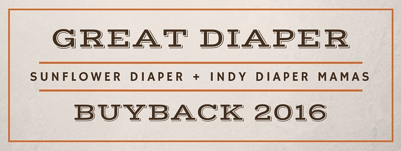 Great Indy Diaper Buyback of 2016