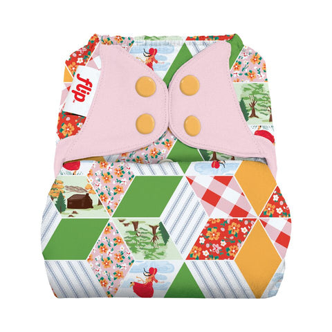 Flip OS Diaper Cover - Little House in the Big Woods Collection