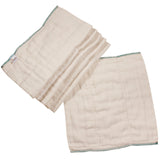 Prefolds - Bamboo / Organic Cotton Better Fit Osocozy 6 Pack