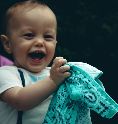 Bandana Burp Rag Set by Father Figure Co.