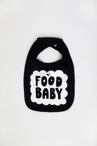 """I Have A Food Baby"" Bib"