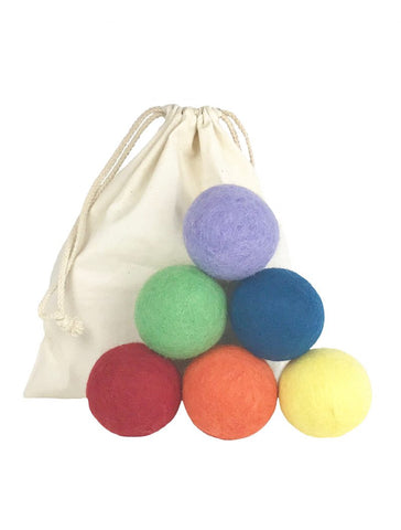 Wool Dryer Balls (Set of 6)