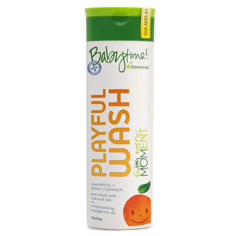 Playful Wash Shampoo + Body Cleanser 8oz (ages 0+)