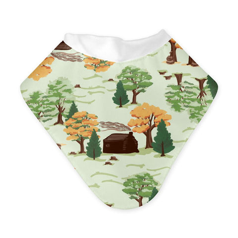 Bandana Bibs - Little House in the Big Woods Collection