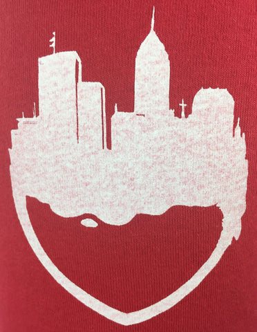 City Heart Kids T-Shirt by Fountain Square USA