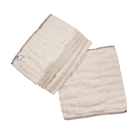 Prefolds - Organic Cotton Osocozy Better Fit 6 pack