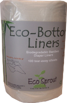 Eco Sprout Eco Bottom Liners (100)