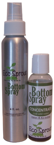 Eco Sprout Bottom Spray Concentrate W/ Aluminium Spray Bottle