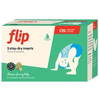 Flip Stay-Dry One-Size Insert - 3 pack