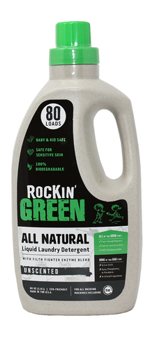 Rocking Green Liquid Laundry Detergent (All Water Types)