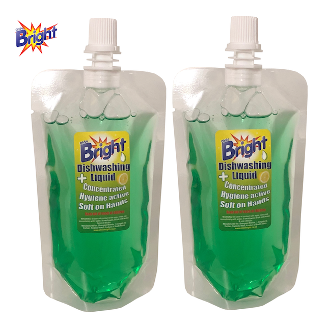 OhSoBright 100ml Concentrated Dish Washing Liquid - travel pack