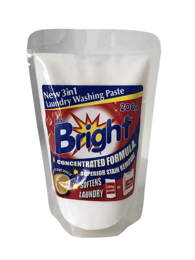 OhSoBright 200g Laundry Detergent Washing paste