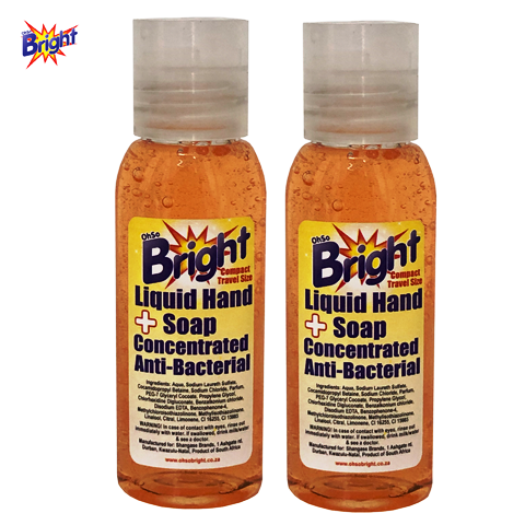 60ml OhSoBright Liquid hand soap