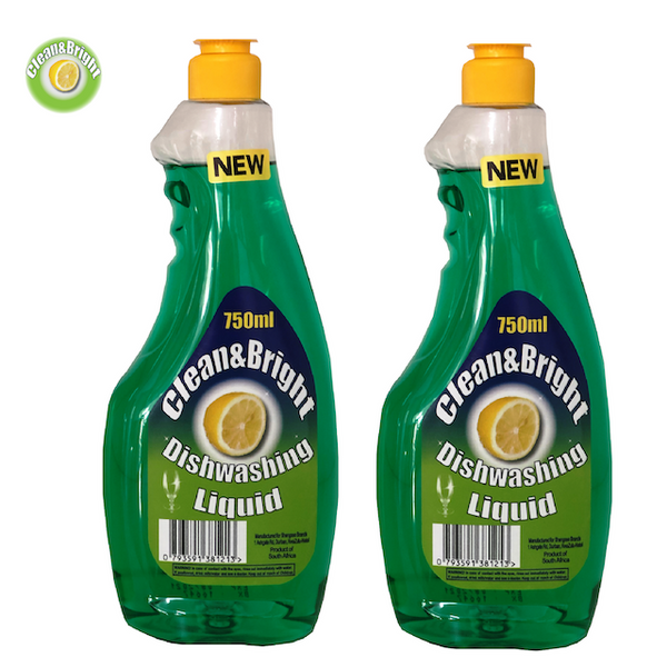 Clean&Bright 750ml dishwashing liquid