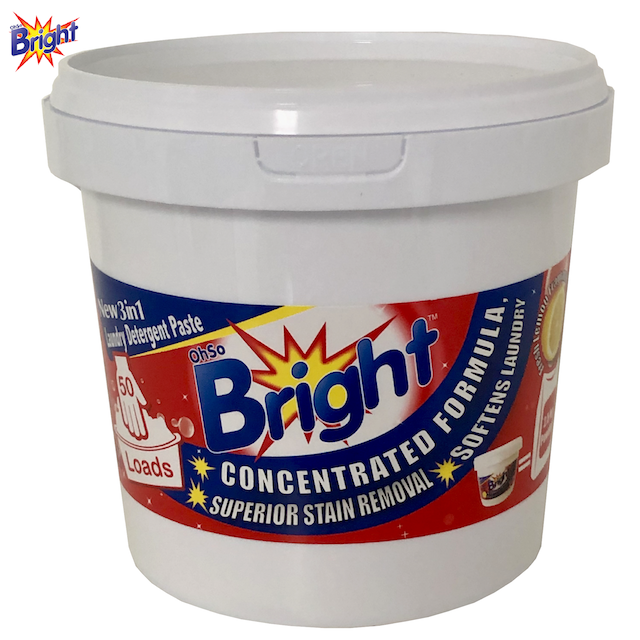 OhSoBright 1kg Laundry detergent paste bucket