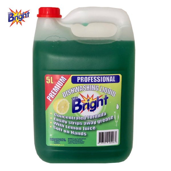 OhSoBright 5 Liter dishwashing liquid