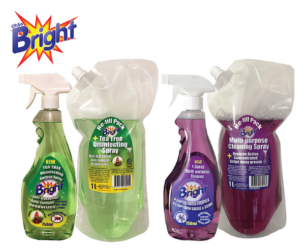 OhSoBright 1 Litre Concentrated Multi Purpose Cleaner re-fill pack