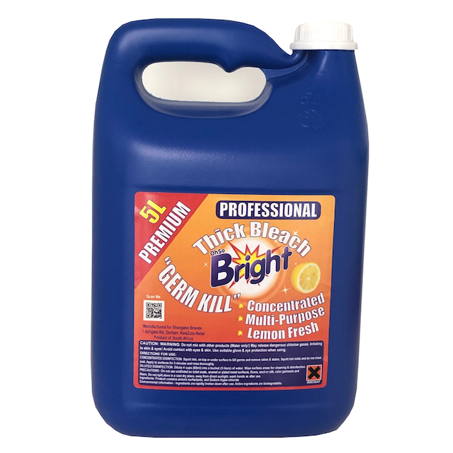 OhSoBright thick bleach 5 litre