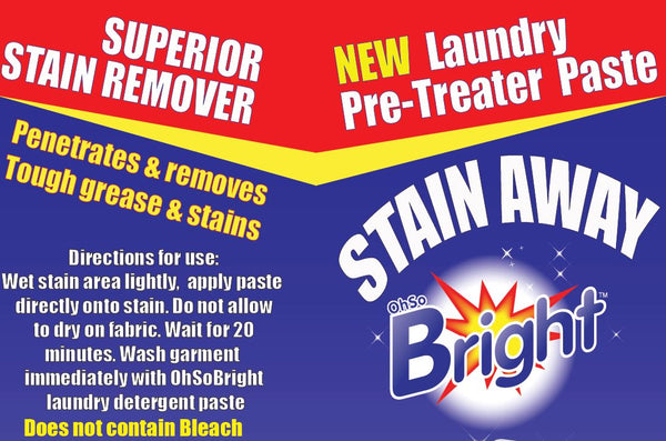 OhSoBright 150g Stain Away Pre-treater tube