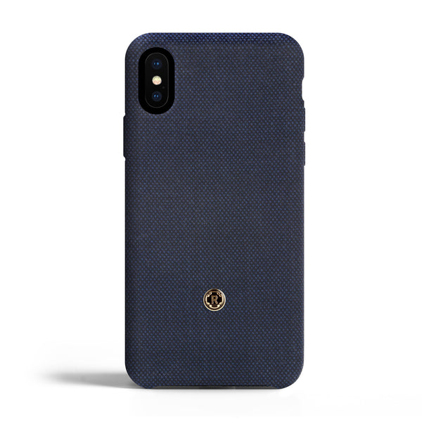 iPhone X/Xs Case - Bird's Eye - Blu di Prussia