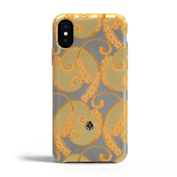 iPhone Xs Max Case - Gold of Florence Silk