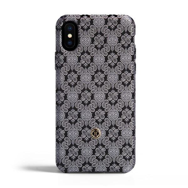iPhone X Case - Venetian White Silk