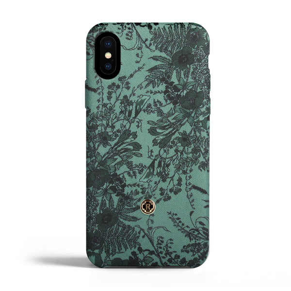 iPhone X/Xs Case - Jardin - Sage