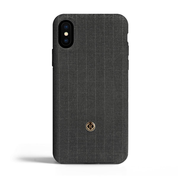 iPhone X/Xs Case - Pinstripe - Legendary grey