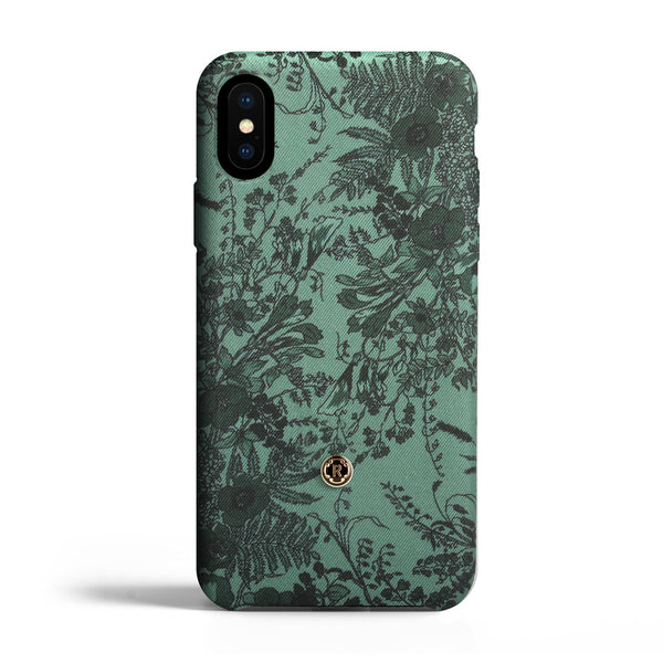 iPhone Xs Max Case - Jardin - Sage