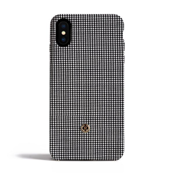 iPhone X Case - Houndstooth
