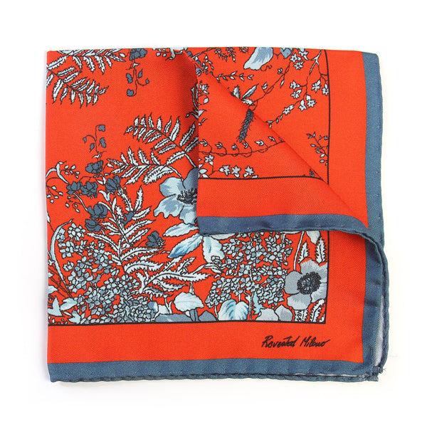 Pocket Square - Jardin - Osmanthus