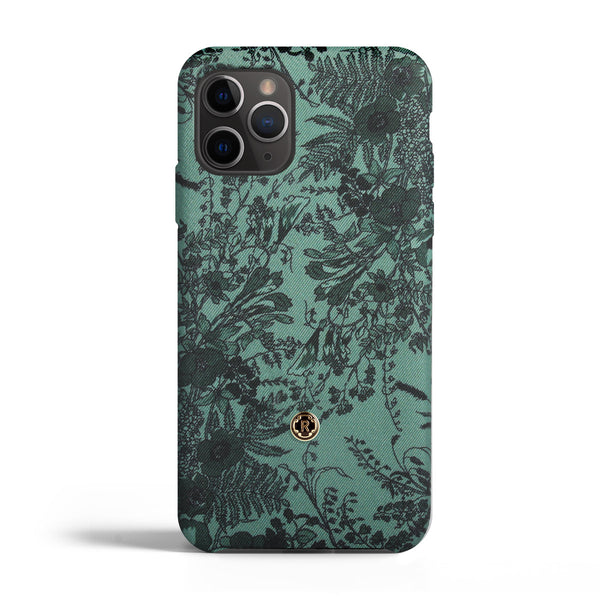 iPhone 11 pro Max Case - Jardin - Sage