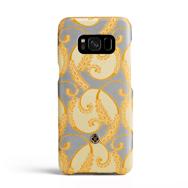Samsung Galaxy S8 Case - Gold of Florence Silk