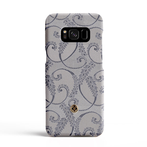 Samsung Galaxy S8 PLUS Case - Silver of Florence Silk