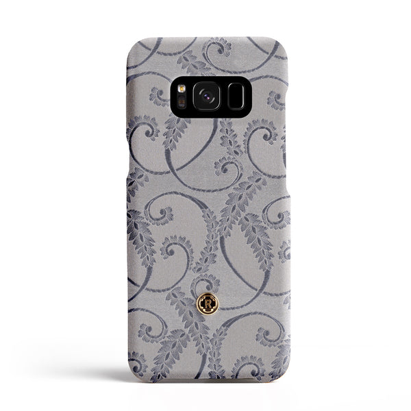 Samsung Galaxy S8 Case - Silver of Florence Silk