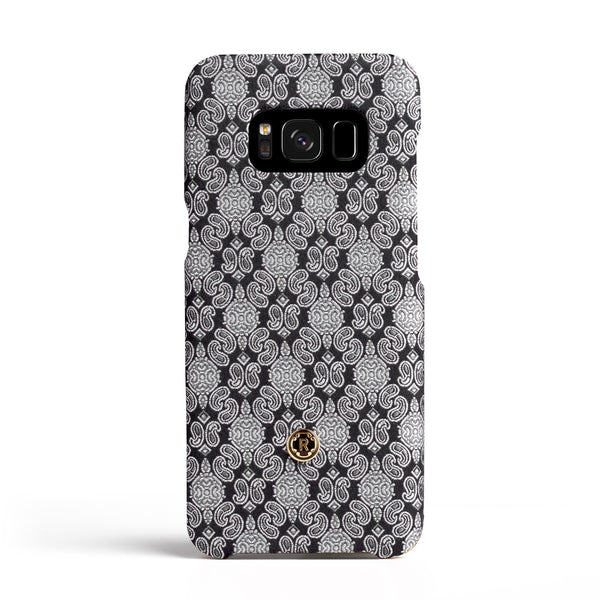 Samsung Galaxy S8 Case - Venetian White Silk